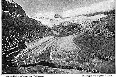 Чешки учен и алпинист снима топенето на ледник още през XIXв.