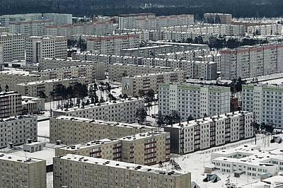 Град Припят, някога замислен като град за работещите в атомната електроцентрала, сега е град-призрак.