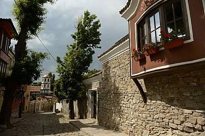 Калдъръмените улички на Стария Пловдив