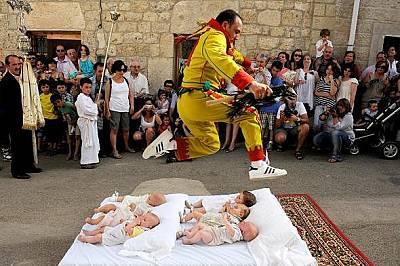 Необичайна испанска традиция