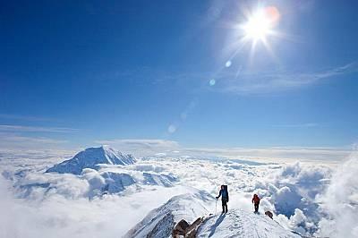 Най-високото изкачване: Денали, АляскаДенали – с предишно име връх Маккинли (Денали всъщност е старото име на върха. При посещение...