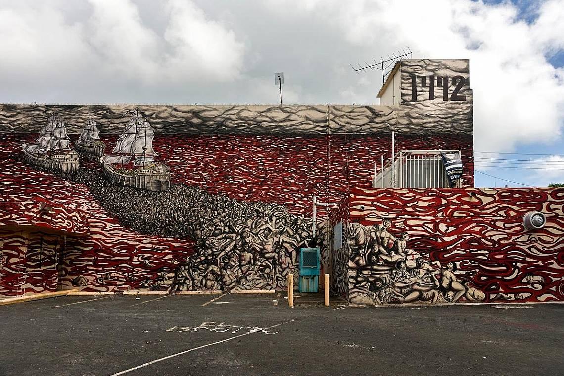 Сан Хуан, Пуерто РикоФестивалът на уличното изкуство Santurce Es Ley, започнал през 2010 г. запалва искра в отдавна занемарения квартал на Сан Хуан Са...