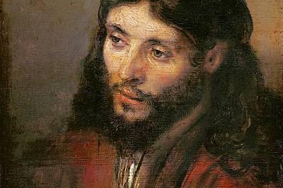 """Глава на Христос"", РембрандСпоред изкуствоведите за тази ""Глава на Христос"", която нарисувалв края на 40-те години на XVII в., Ре..."