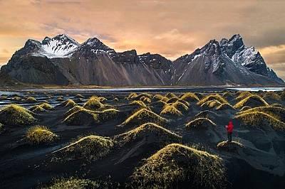 """Вестрахорн, Исландия""""С помощта на дрон опитах да заснема този красив пейзаж във Вестрахорн. Вече планираме пътуването си за следващата годин..."""