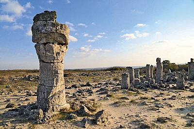 Побитите камъни - загадъчната каменна гора
