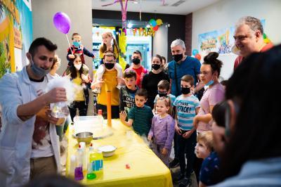 """Детският празник с NG KIDS """"Клуб Малки Откриватели"""" в Mall Plovdiv"""