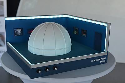 """Показаха част от изграждащия се Софийски планетариум """"Андромеда"""""""