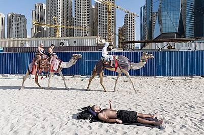 Плажът на Jumeirah Beach Residence