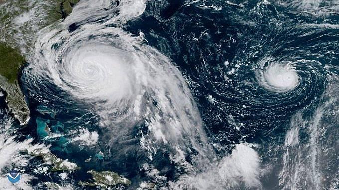 Сезонът на ураганите обикновено продължава в Атлантическия океан половин година - от 1 юни до 30 ноември.  Снимка: БГНЕС