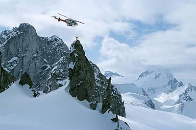 Хели-ски водач на Оспрей Спайър, Канада