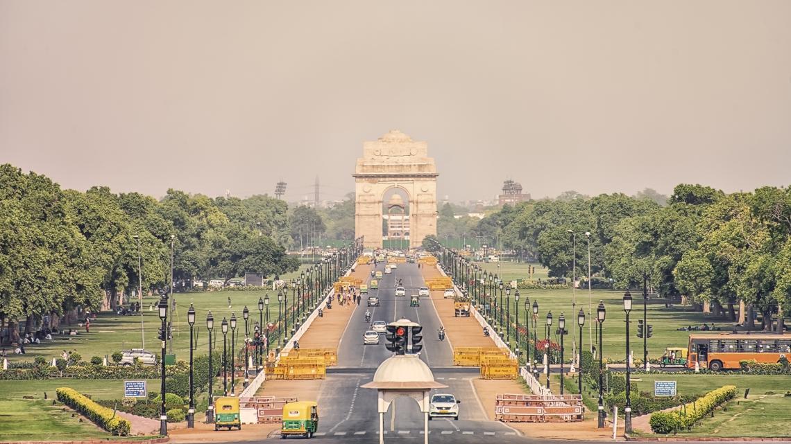 Вратата на Индия, военен паметник, Ню Делхи, Индия