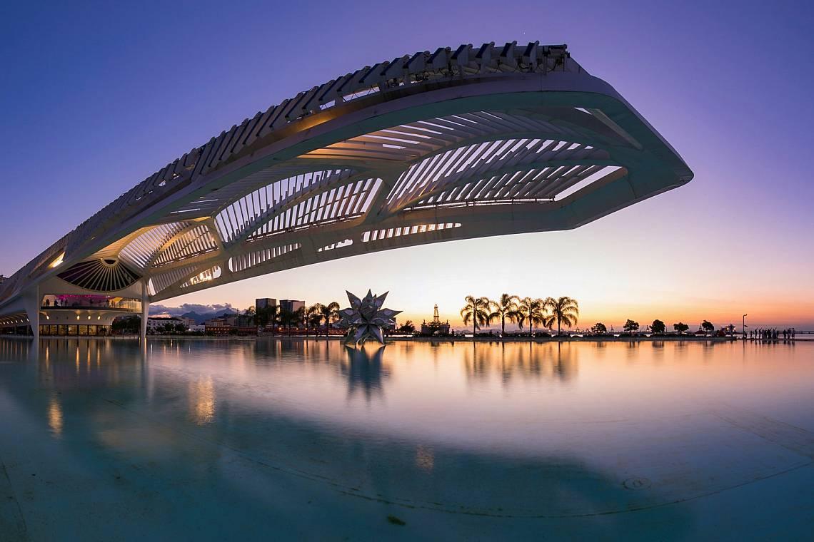 Музеят на бъдещето в Рио де Жанейро  Снимка: iStock