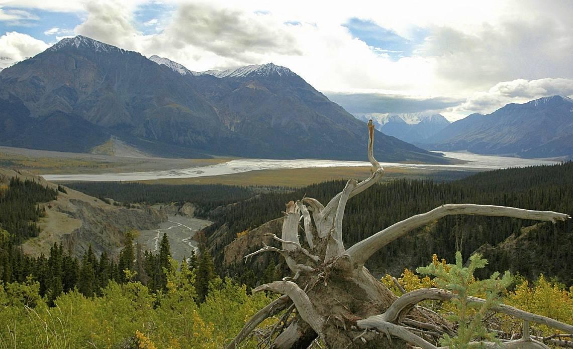 Националният парк Клуейн в Канада.