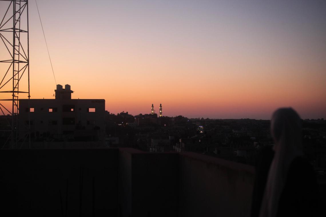 Газа, град Бейт Лахия, 2020 г.