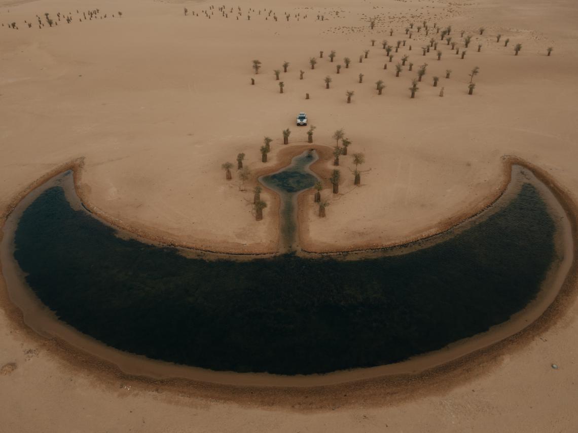 """""""Лунното езеро"""", Дубай."""