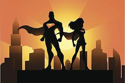 Децата смятат родителите си за супергерои с необикновени сили