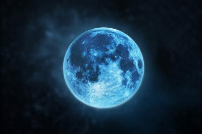Рядка Синя луна изгрява в неделя, 22 август