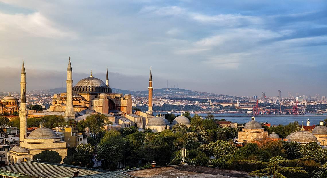 """Църквата Света София е определяна от историци като """"осмото чудо на света"""".  Снимка: iStock"""