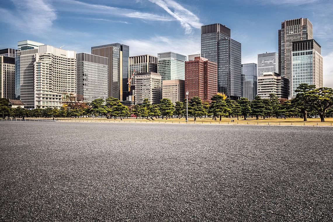 Празна улица в Токио Снимка: iStock
