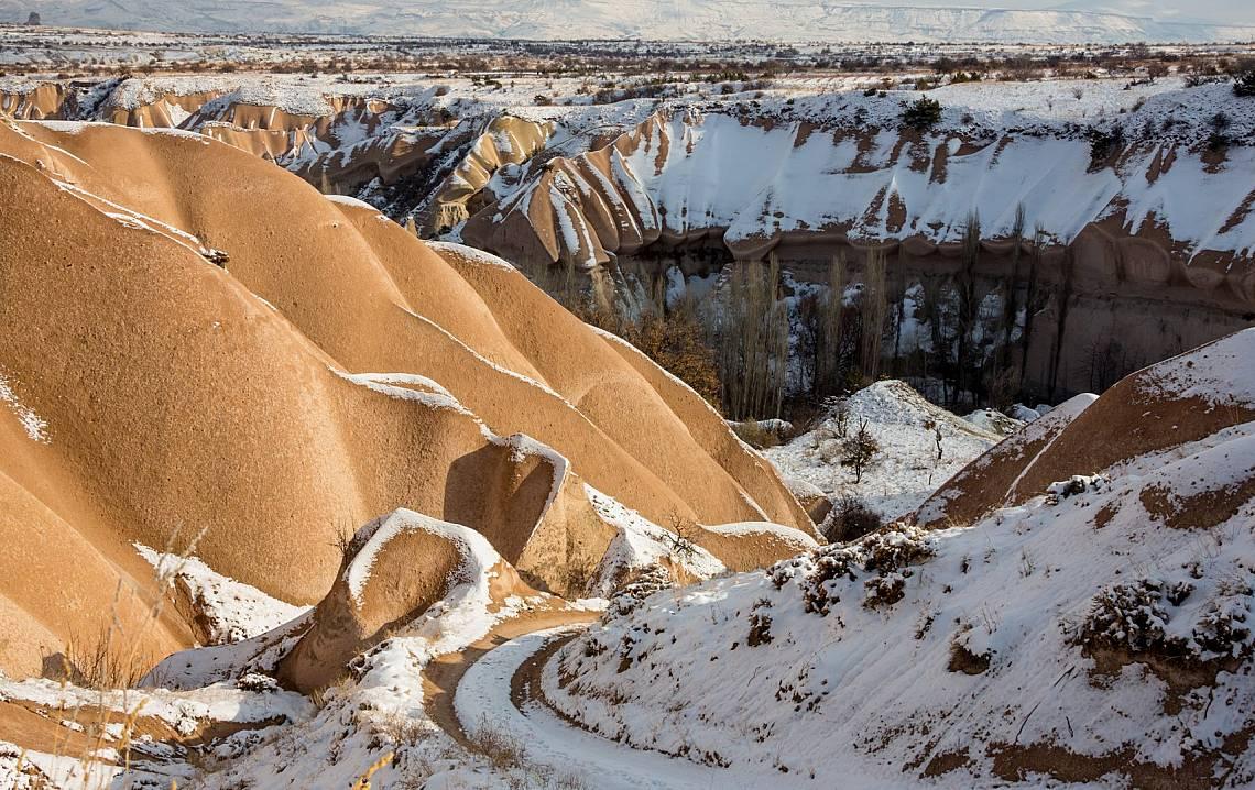 Сняг покрива Атласките планини Снимка: iStock