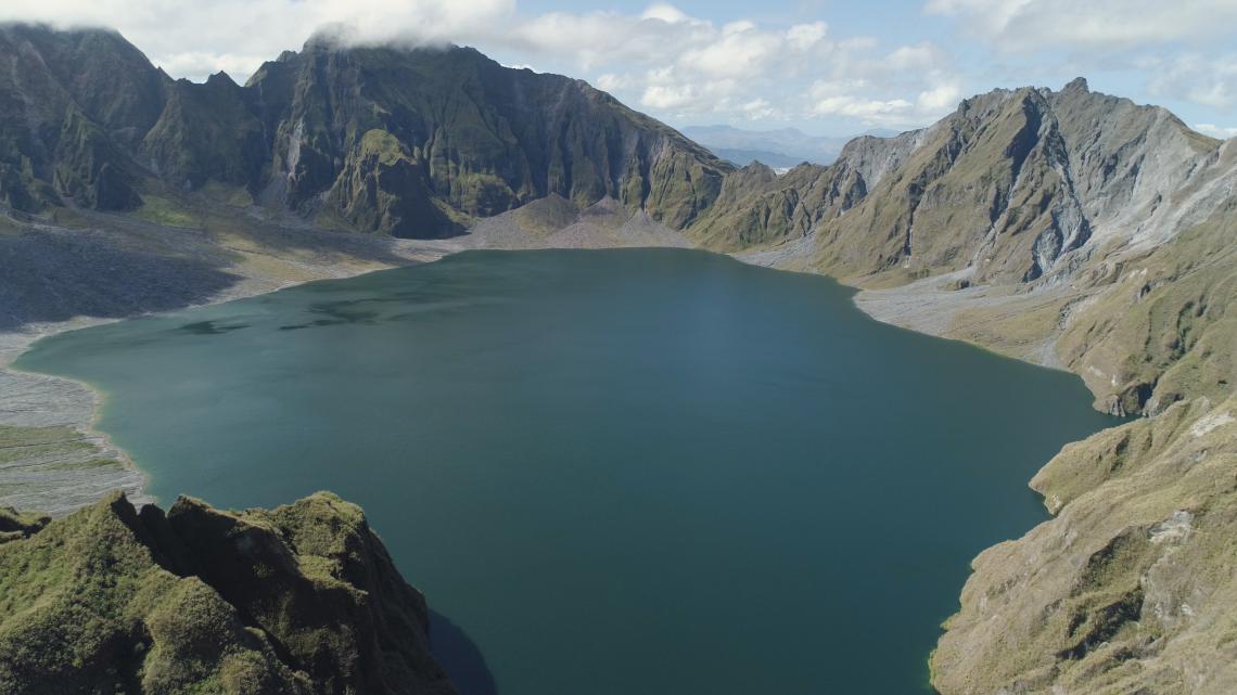 Кратерно езеро на вулкана Пинатубо, Филипини