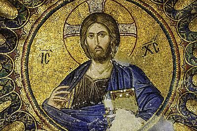 Иисус, мозайка