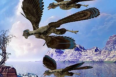 Археоптерикс - летящо влечуго