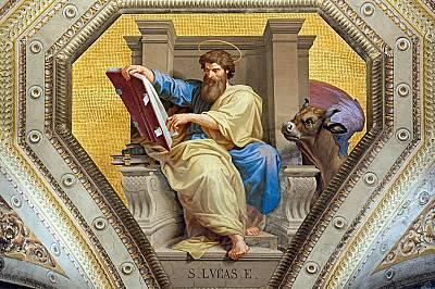 """Евангелие от ЛукаБлудният син Разказът за младия човек, който, след като получил своя дял пари от баща си, го похарчил за """"разточителен жив..."""