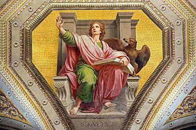 Евангелие от ЙоанЖената прелюбодейка Йоан, най-младият и най-странният от евангелистите, често прибягва до метафори, когато разказва живота и делото...