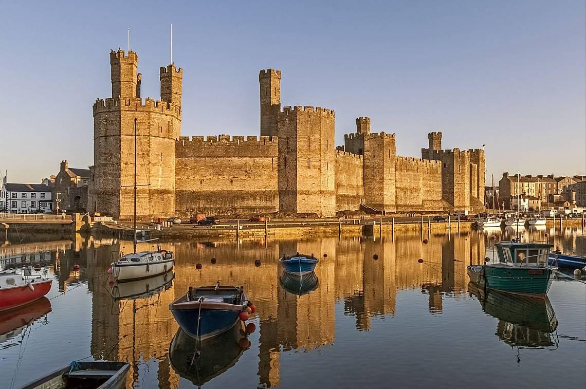 Замъкът Карнарвън Снимка: iStock