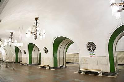 """Станция """"ВДНХ"""" е отворена на 1 май 1958 г."""