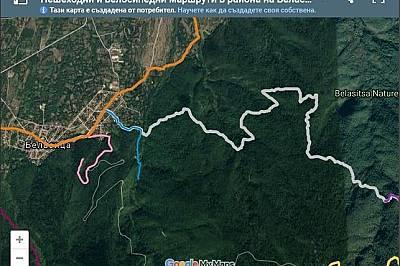 Нова онлайн карта с над 40 пешеходни и велосипедни маршрути разкрива очарованието на Беласица