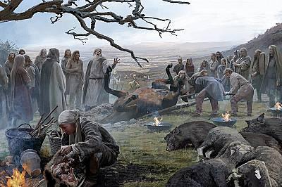 Страховити жертвоприношенияПоловин век преди битката при Алезия келти принасяли в жертва животни и дори хора на този хълм в Западна Швейцария. Били в...