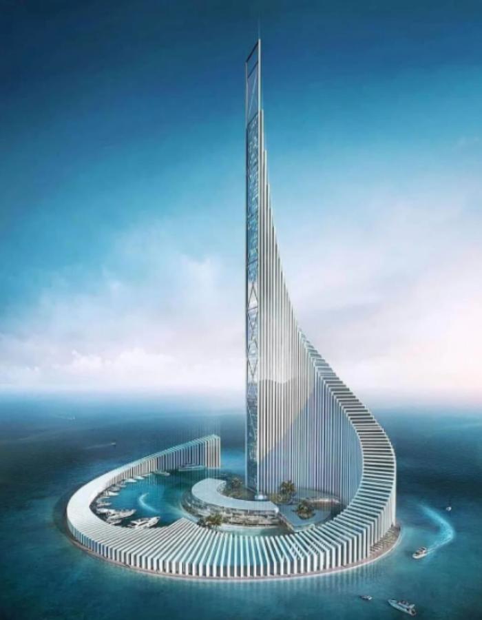 Илюстрация на бъдещия комплекс Zanzibar Domino.