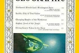 Април 1960 - Жак Кусто и National Geographic По-малко от година след изл
