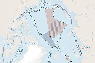 Шест страни – САЩ, Канада, Русия, Финландия, Швеция, Норвегия и Дания – имат сухоземни граници отвъд Полярния кръг.
