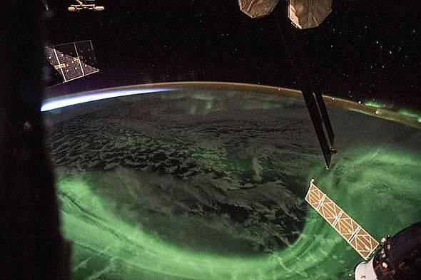 Северното сияние Снимка: NASA