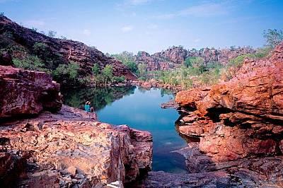 """Национален парк """"Какаду"""", АвстралияПаркът фигурира в списъка на ЮНЕСКО от 1981 г. едновременно и като природен и културен феномен."""