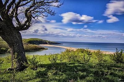 """II-ро място """"Там, където времето е спряло"""", Синеморец, плаж Велека погледнат отвисоко"""