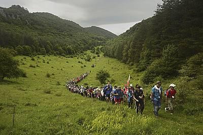 """Националният туристически поход """"По пътя на Ботевата чета"""" се провежда без прекъсване вече 70 години – винаги в периода..."""