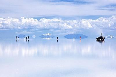 Салар де Уюни - едно от най-забележителните места на Земята