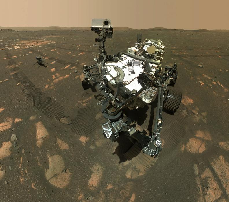 Марсоходът на НАСА Perseverance взе първата проба скала, която да бъде изследвана на Земята, като част от мисията си най-накрая да разкрие дали някога...