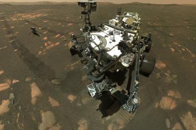 НАСА взе първата скална проба от Марс