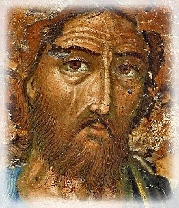 Св. Йоан Кръстител е наречен Предтеча, защото предрича идването на Христос на земята.