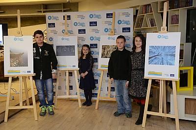 Призьори в националния етап на Международния фотографски конкурс за деца за 2015 г.