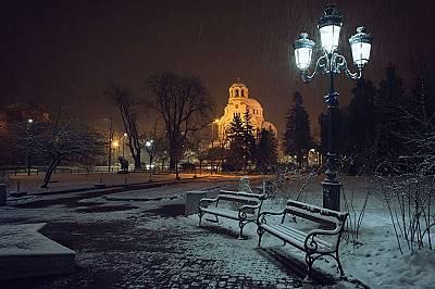 Зимна вечерПърво място